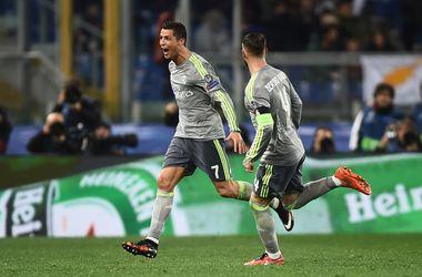Криштиану Роналду - первый футболист в истории, забивший 40 голов в плей-офф Лиги чемпионов