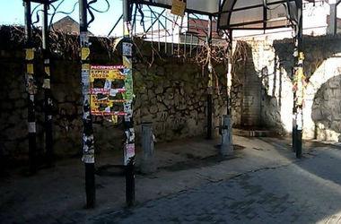В центре Киева бювет превратился в туалет