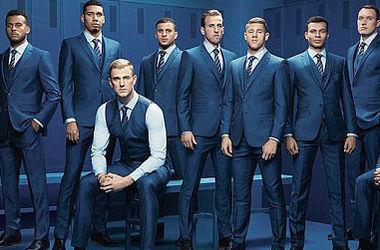 Сборная Англии показала костюмы, в которых поедет на Евро-2016