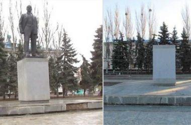 В Украине стало еще на два памятника Ленину меньше