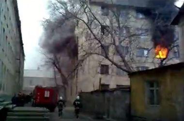 В Одессе горело студенческое общежитие