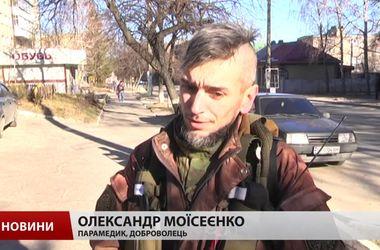 В Харькове судили парамедика-добровольца