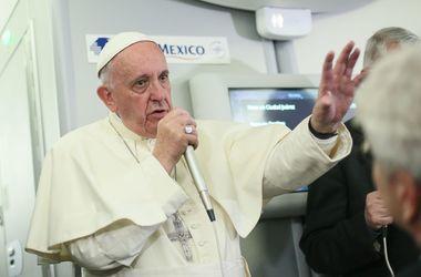 Война является экзистенциальной проблемой Украины - Папа Римский