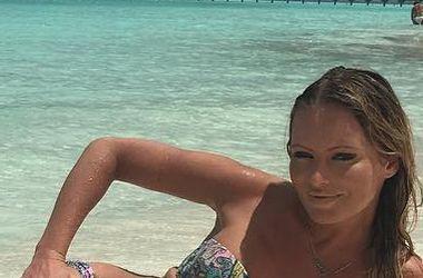 """""""Отъела живот"""": Дана Борисова в купальнике рассказала, что поправилась на Мальдивах (фото)"""
