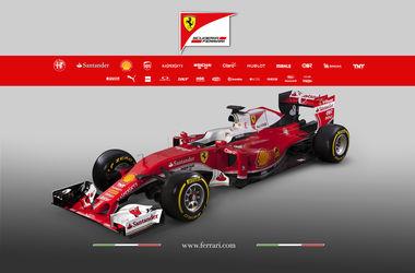 """Команда """"Феррари"""" представила новый болид на сезон-2016 в Формуле-1"""