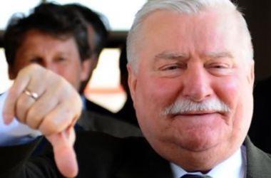 В МИД Польши прокомментировали скандал вокруг Леха Валенсы
