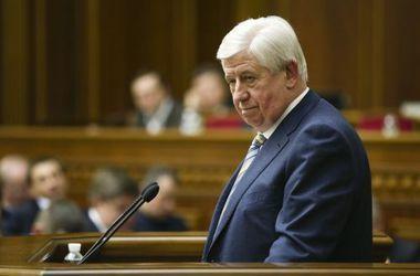 Порошенко предложил Раде уволить Шокина