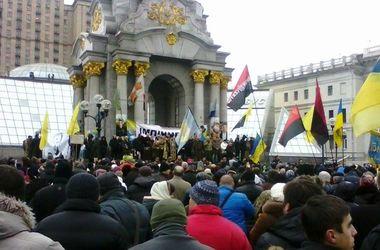 День памяти Героев Небесной сотни: что происходит на Майдане
