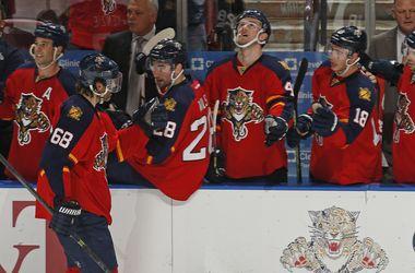 Яромир Ягр вышел на третье место в списке снайперов в истории НХЛ