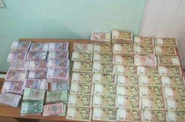 В Харьков везли почти миллион на финансирование террористов