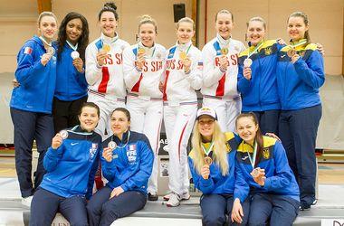 Сборная Украины по фехтованию на саблях завоевала лицензию на Олимпиаду-2016