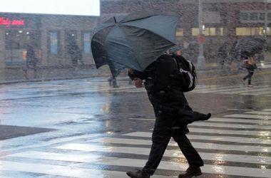 На Украину надвигается сильный шторм