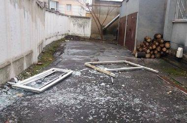 "В Ровно сожгли офис ""Автомайдана"""