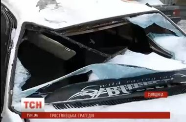 В Сумской области пьяный лихач влелел в толпу молодежи: есть погибшие