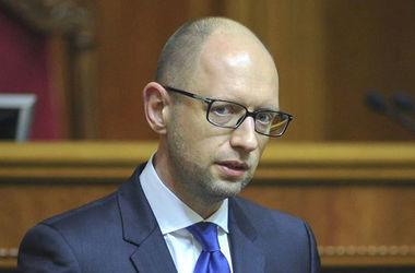 """Яценюк возложил ответственность за ситуацию в стране на БПП и """"Народный фронт"""""""