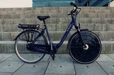 """В Голландии создали первый в мире """"солнечный"""" велосипед"""
