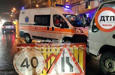 В Киеве пьяный водитель устроил масштабное ДТП