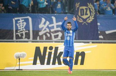 Как Алекс Тейшейра забивал свой первый гол в Китае