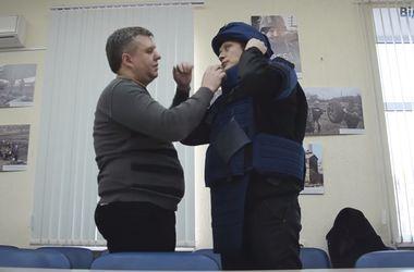В Украине создали специальный бронежилет для журналистов