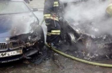 <p>В Питере сгорела машина жены Сергея Шнурова. Фото: соцсети</p>