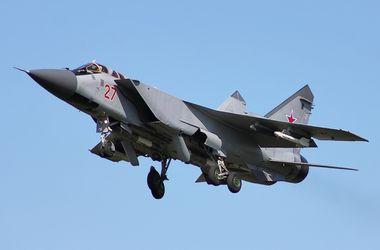 В России чуть не разбился истребитель МиГ-31