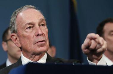 Экс-мэр Нью-Йорка Блумберг отказался участвовать в президентской гонке