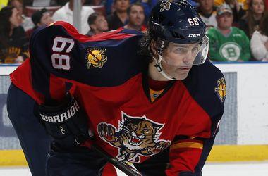 Яромир Ягр вышел на третье место среди бомбардиров в истории НХЛ