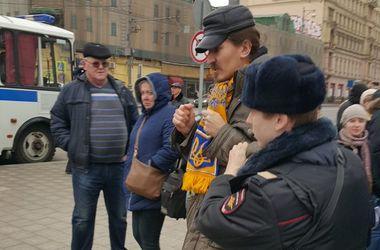 В Москве начались аресты участников митинга в поддержку Савченко (видео)