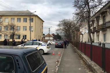 The police opened a criminal case after the shooting in Mukachevo