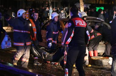 In the centre of Ankara a terrorist act occurred