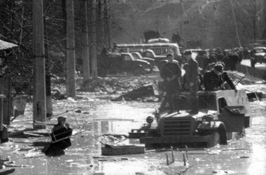 В Киеве помянули жертв потопа