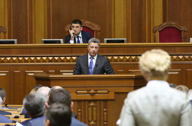We insist on the adoption of two important laws - Boyko