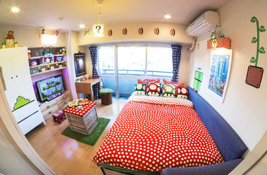 Японцы создали квартиру в стиле Super Mario