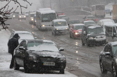 В Киев возвращается зима: ночью пройдет мокрый снег