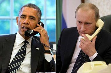 Обама напомнил Путину о перемирии в Украине