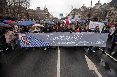 В Венгрии протестуют против реформы образования