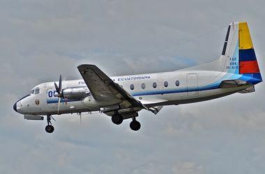Военный самолет разбился в Эквадоре: погибли 22 человека