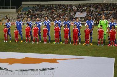 Сборная Кипра назвала состав на матч с Украиной