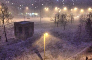 В Харьков вернулась зима