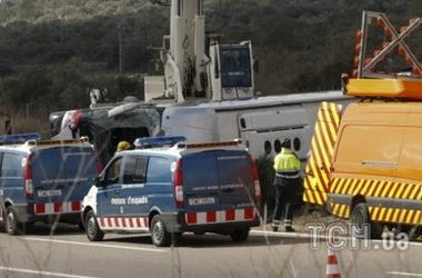 В ДТП в Испании пострадали двое украинцев