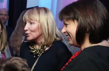 <p>Яресько посетила открытие недели моды. Фото:facebook.com/nataliya.mykolska</p>
