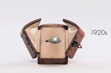 Эволюция обручального кольца за 100 лет: что изменилось