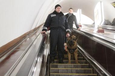 В киевском метро усилили меры безопасности