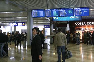 Самолеты Киев - Брюссель отменены
