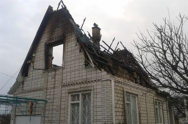 Под Киевом мужчина погиб в пожаре в собственном доме