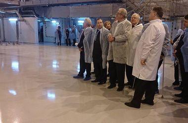 Порошенко в Харькове запустил исследовательскую ядерную установку