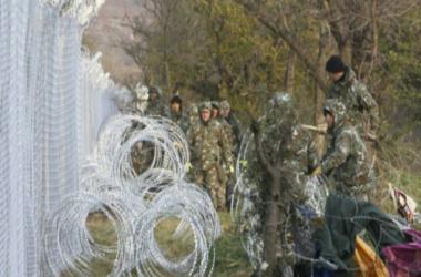 Латвия построила первые 3 километра забора на границе с Россией