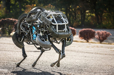 <p><span>Робот BigDog компании Boston Dynamics. Фото: osp.ru<br /></span></p>