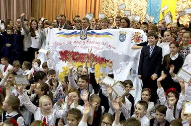 Киевские школьники установили новый рекорд Украины