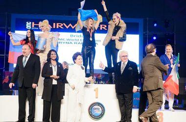 Знай наших: парикмахер из Ровно стала чемпионом мира по модельным прическам